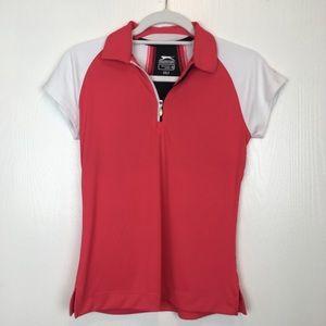 Slazenger Pink Golf Shirt Top XS